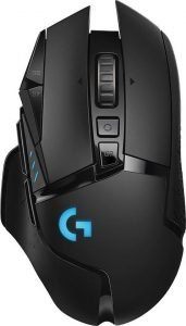 Logitech g502 lightspeed   Gaming Muis   PrijsKrijger